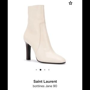 Saint Laurent Jane 90 booties *brand new*